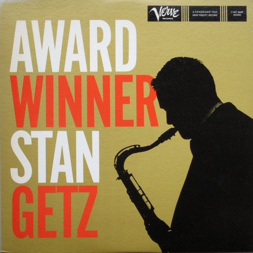 Stan Getz - Award Winner ( Japanese Import VG/VG+)