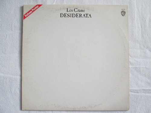 Les Crane - Desiderata - in Shrink with Poster
