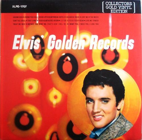 Elvis Presley - Elvis' Golden Records - Gold vinyl - NM