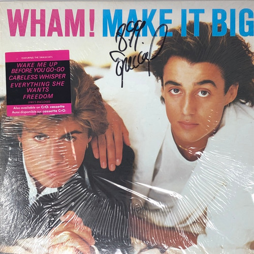 Wham! - Make It Big (With Hype Sticker in Open Shrink)