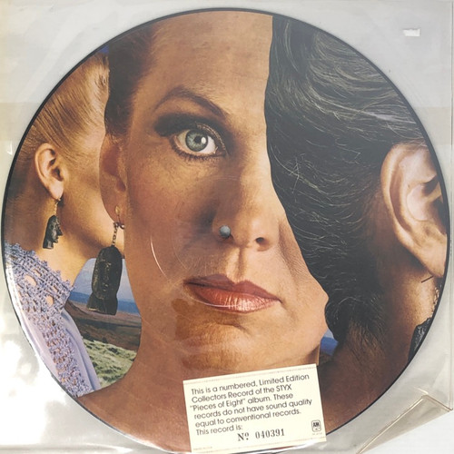 Styx - Pieces of Eight (Limited Edition Numbered Picture Disc)