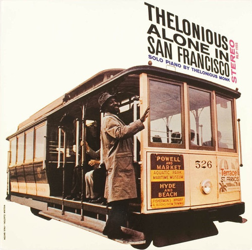 Thelonious Monk - Thelonious Alone In San Francisco  Pressed at RTI