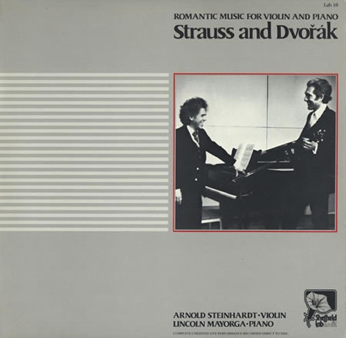 Richard Strauss - Romantic Music For Violin And Piano - Strauss And Dvorak