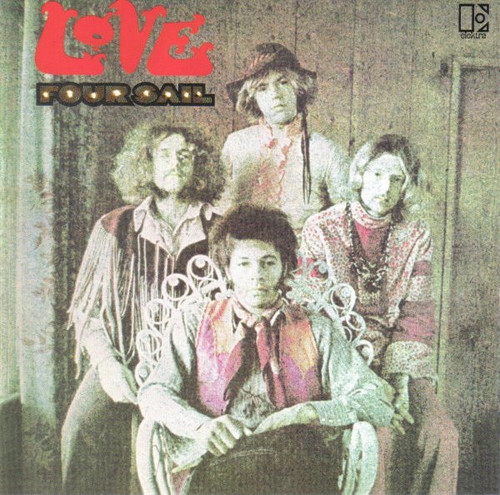 LOVE -Four Sail- LP 1969 Elektra EKS-74049 Original 1st Pressing VG++ RL Ludwig