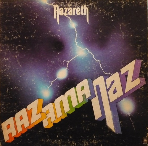 Nazareth - Razamanaz ( comes with concert ticket stub )