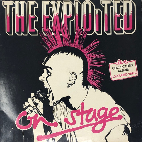 The Exploited - On Stage (Red Vinyl)