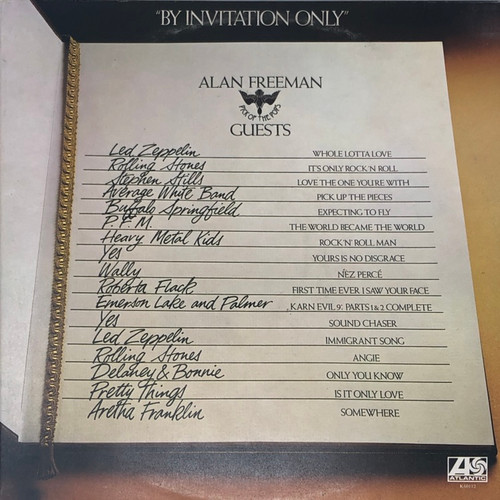 Various - By Invitation Only (Compilation featuring Led Zeppelin, Rolling Stones, Aretha Franklin, YES, etc)