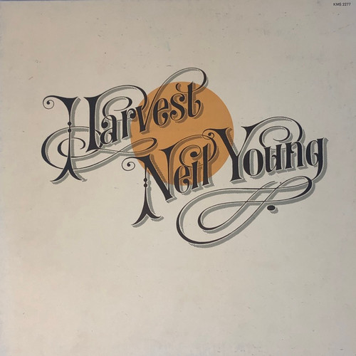 Harvest - Neil Young (Mid-70's Reissue)