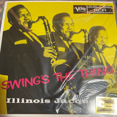 Illinois Jacquet - Swing's The Thing (Analogue Productions 200g)