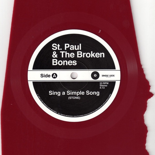 St. Paul & The Broken Bones - Sing A Simple Song / Moonage Daydream