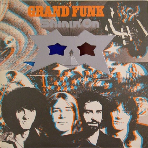 Grand Funk Railroad - Shinin' On ( with die cut sunglasses)