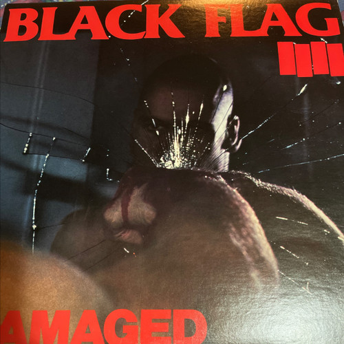 Black Flag - Damaged (1st Pressing 1981)