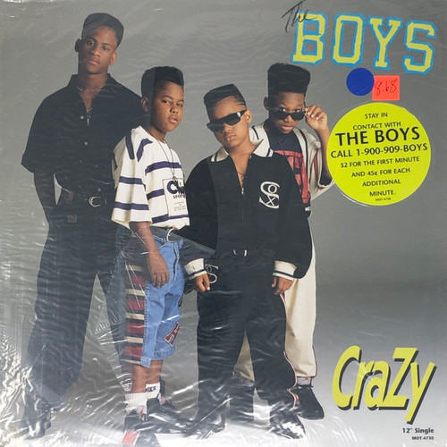 "The Boys - Crazy (1990 Sealed 12"" Single)"