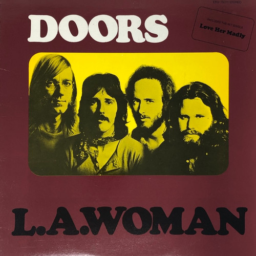 The Doors - L.A Woman (1980 Reissue VG+/VG)