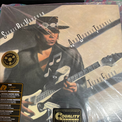 Stevie Ray Vaughan - Texas Flood (Analogue Productions 2LP 200g)