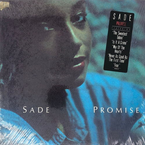 Sade -  Promise (US 1st Pressing in Open Seal with Hype Sticker NM)