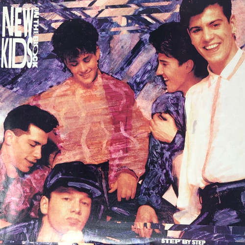 New Kids on The Black - Step By Step (US Press)