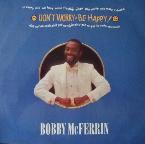 "Bobby McFerrin - Don't Worry, Be Happy (UK 12"" Single)"