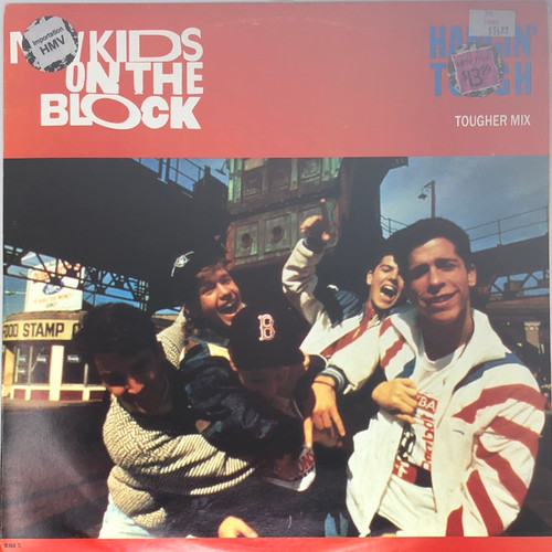 "New Kids On The Block - Hangin' Tough (UK 12"" Single)"