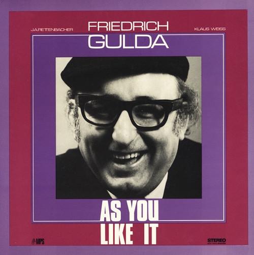 Friedrich Gulda - As You Like It (  1970 1st pressing NM)
