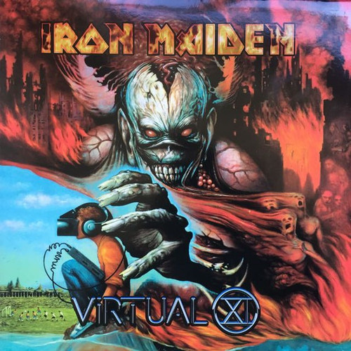 Iron Maiden - Virtual XI (1998 vinyl is NM)