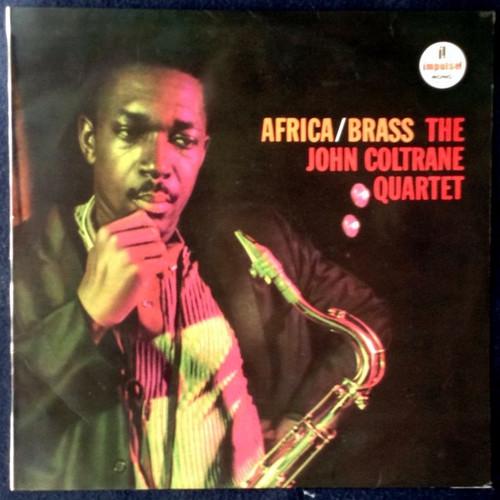 The John Coltrane Quartet - Africa / Brass - 1961 Japanese pressing