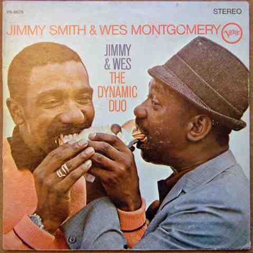 Jimmy Smith - Jimmy & Wes - The Dynamic Duo (1st pressing Stereo)