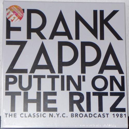 Frank Zappa - Puttin' On The Ritz · The Classic N.Y.C. Broadcast 1981 ( Sealed - Splatter Vinyl)