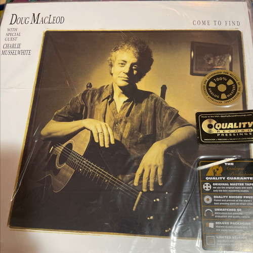 Doug MacLeod - Come to Find (Analogue Productions 2LP 200g)