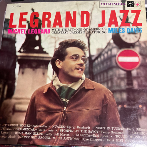 Michel Legrand - Legrand Jazz ( with Miles Davis, Bill Evans, John Coltrane - 6 eye -NM)