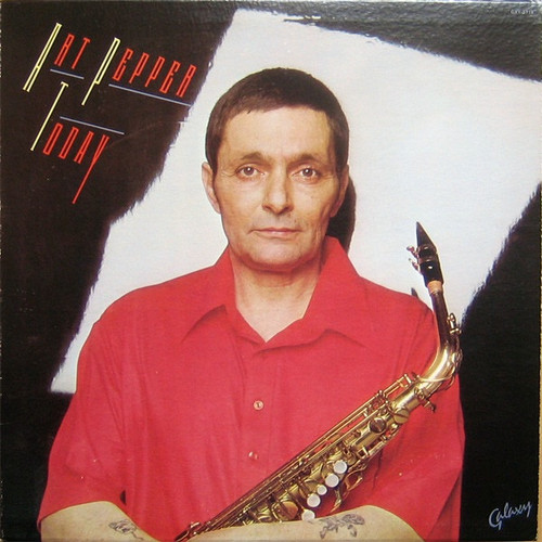 Art Pepper - Today ( Original pressing VG+/NM)