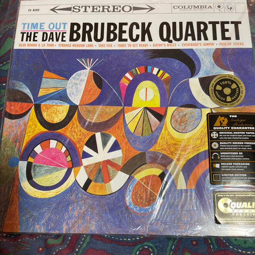 The Dave Brubeck  Quartet - Time Out (Analogue Productions 200g)