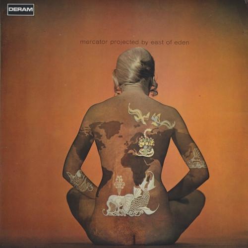 East Of Eden - Mercator Projected ( 1969 UK pressing )