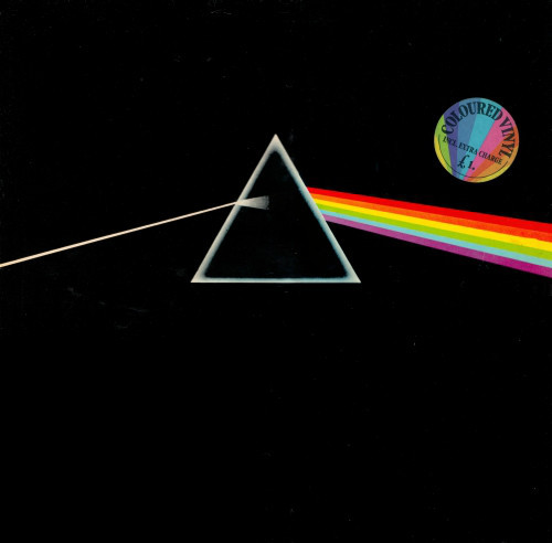 Pink Floyd - Dark Side of the Moon (White wax import)