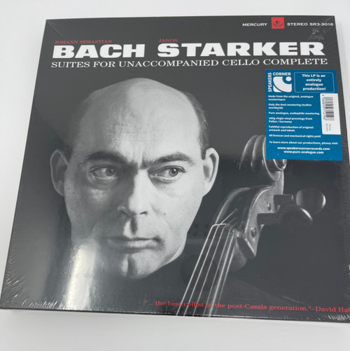 Bach / Starker Suites For Unaccompanied Cello  (Speakers Corner)
