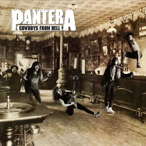 Pantera - Cowboys From Hell (Limited Edition White & Whiskey Brown Marbled Vinyl)