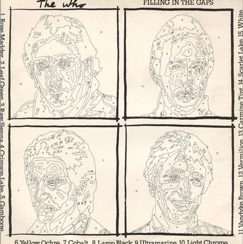 The Who - Filling In The Gaps ( 2 LP  Promotional set)