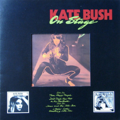 """Kate Bush - On Stage ( In framed 12"""" cover)"""