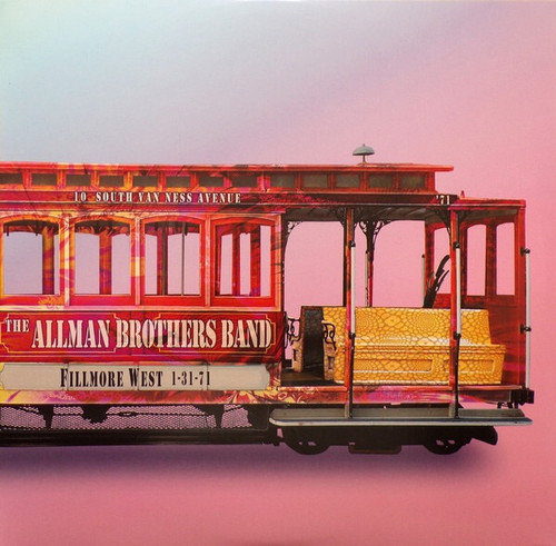 The Allman Brothers Band - Fillmore West 1-31-71 (RSD 2020 Glow in the Dark)