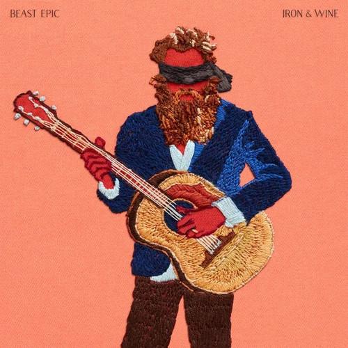 """Iron And Wine - Beast Epic (Deluxe Edition Coloured Vinyl + Bonus 12"""")"""