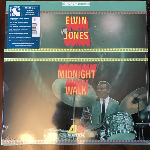 Elvin Jones - Midnight Walk ( Speakers Corner)