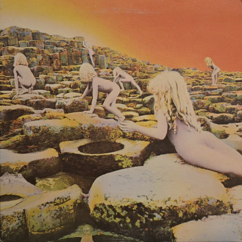 Led Zeppelin - Houses Of The Holy (1973 4th variant pressing)