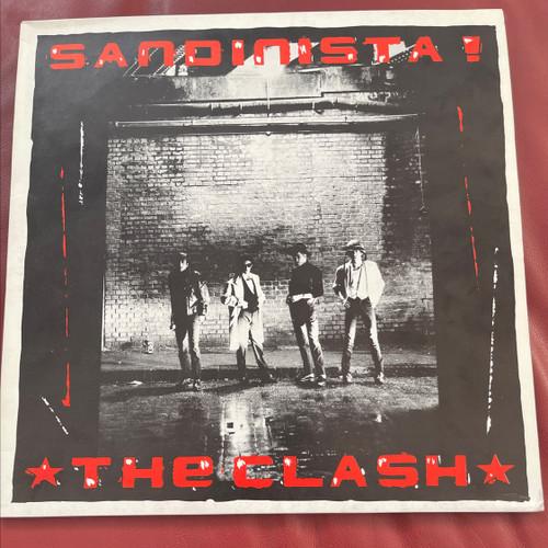 The Clash -  Sandinista (1st UK Pressing)