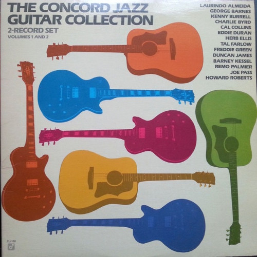Various - Concord Jazz Guitar Collection  (Volumes 1 And 2)