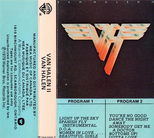Van Halen - Van Halen II ( Cassette)