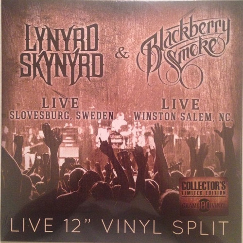"Lynyrd Skynyrd - Live 12"" Vinyl Split (Sealed)"