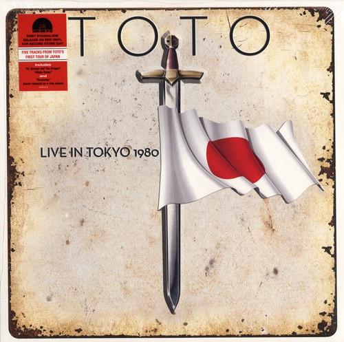 Toto - Live In Tokyo ( Red Vinyl)
