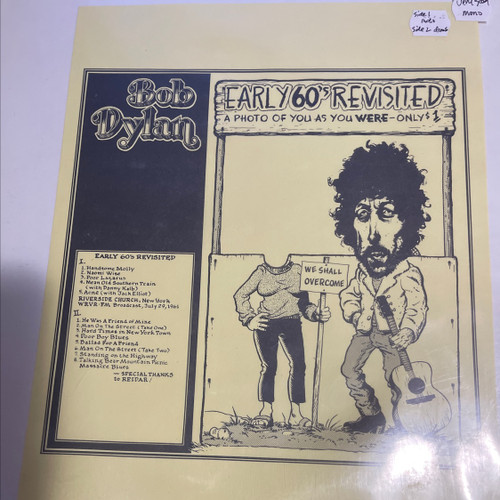 BOB DYLAN EARLY 60's REVISITED LP TMQ-71083 Vinyl EX
