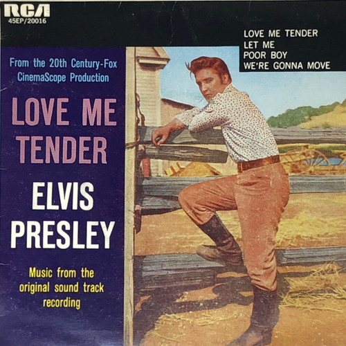 """Elvis Presley - Love Me Tender (Australian 7"""" EP)"""