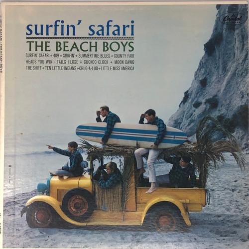 The Beach Boys - Surfin' Safari (Capitol Rainbow Label)